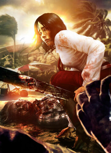 """Dead Island Zombie FPS Game Wall Poster 18/""""x13/""""  D14"""