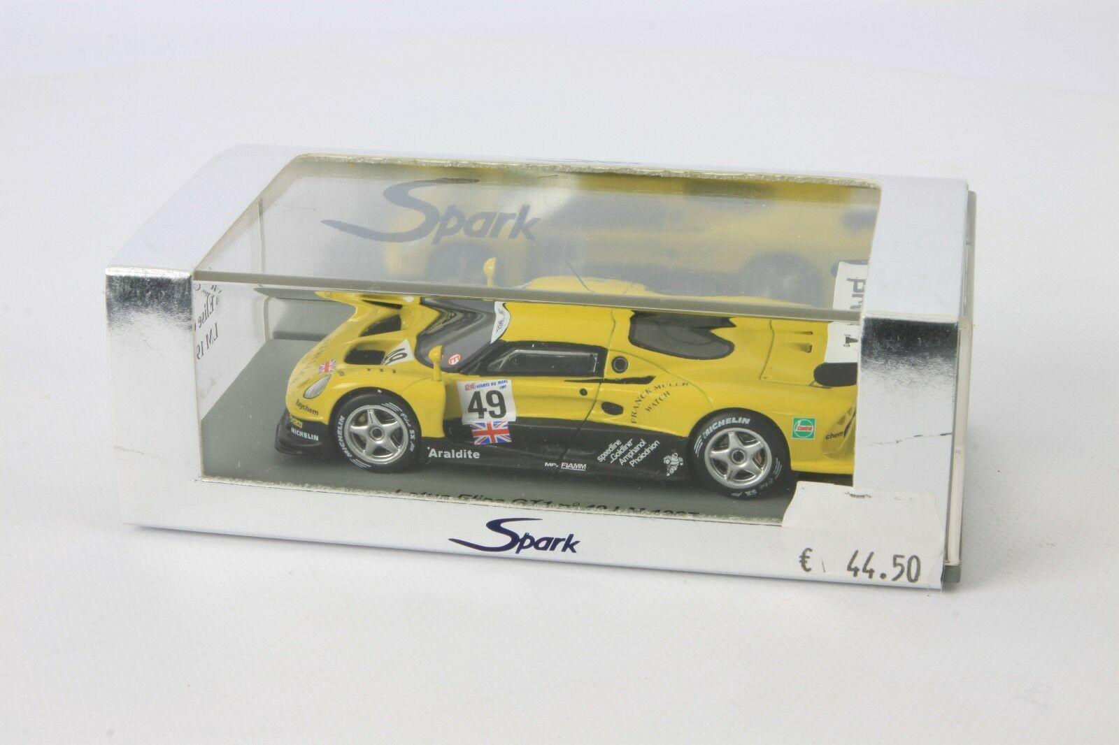 SPARK Lotus Elise GT 1 n49 LM 1997 1 43