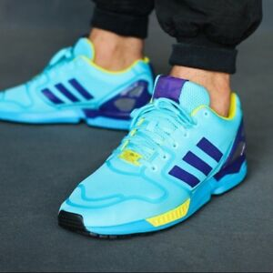 Aqua Adidas ZX Flux Tech | MEN | At