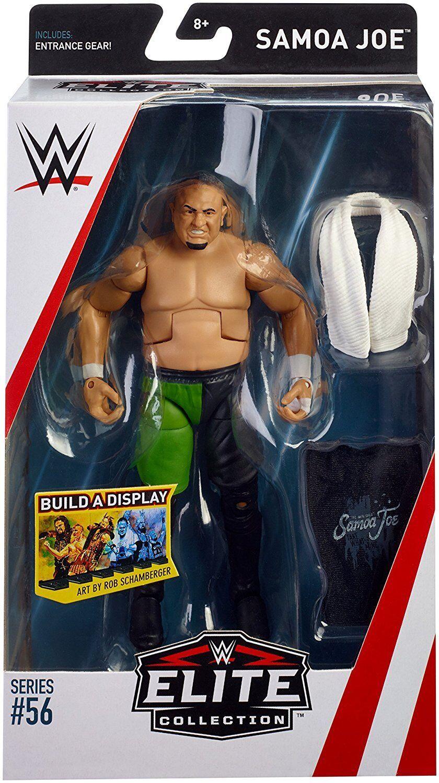Wwe Samoa Joe Nxt Elite Serie 56 Wrestling Actionfigur Zubehör Wwf Tna