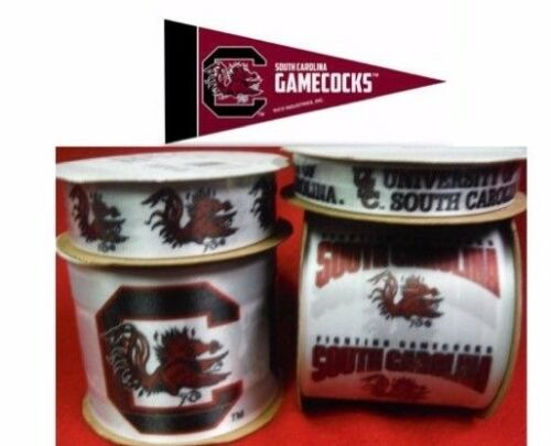 South Carolina Gamecocks Licensed NCAA Ribbons /& Mini Pennants