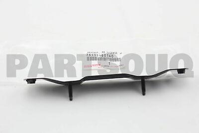 7511160140 Genuine Toyota BRACKET FRONT LICENSE PLATE 75111-60140