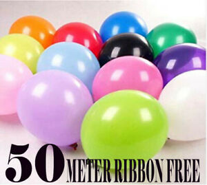 100-PCS-HELIUM-Pearlised-Latex-Balloons-10-034-Wedding-Birthday-CHRISTENING-Party