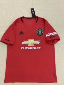 competitive price fdd87 a3846 Details about Manchester United Home Shirt 2019/20 Season Home Kit Jersey  Man United