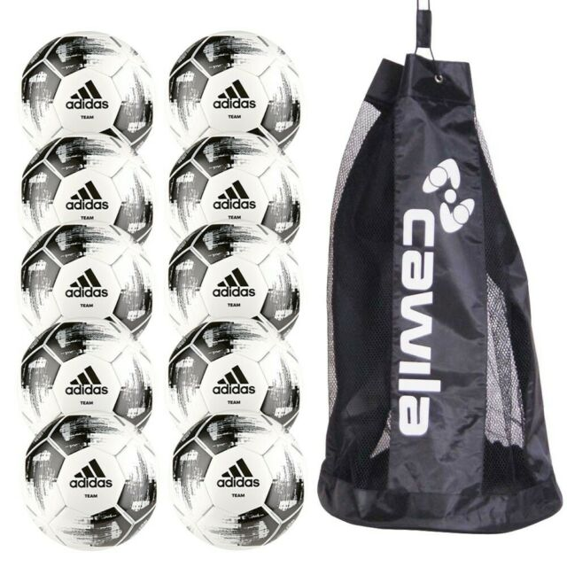 10er Ballpaket Trainingsball Adidas Team Glider Fussball 1819 | Gr.5 CZ2230