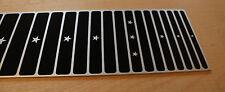 """Premium lap steel guitar fretboard - 8 string aluminium 24.5"""" scale - Sugartone"""
