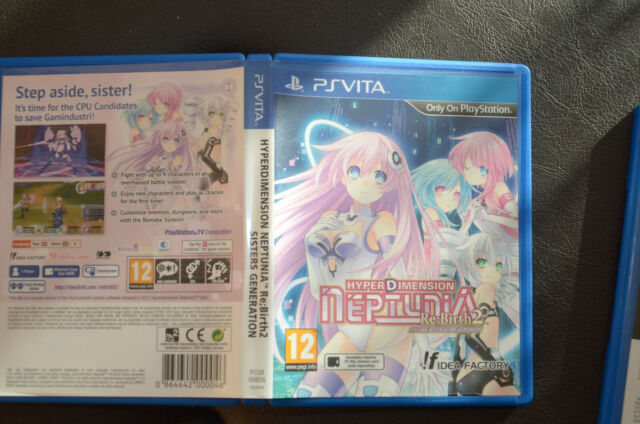 HyperDimansion Neptunia Rebirth:2 jeu PS VITA