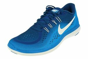 176f260a0fe84 Nike Flex 2017 RN Running Shoes Gym Blue Photo Blue White 898457-403 ...