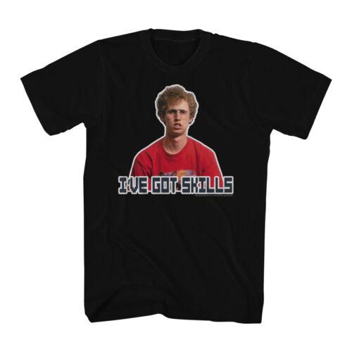 Napoleon Dynamite Red Shirt Skills Men/'s Black T-shirt NEW Sizes S-2XL