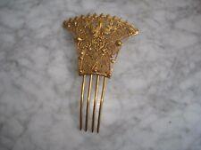 Grand Peigne Ancien en Pompone - Antique Comb