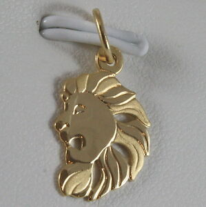 SOLID-18K-YELLOW-GOLD-ZODIAC-SIGN-PENDANT-ZODIACAL-CHARM-SATIN-MADE-IN-ITALY