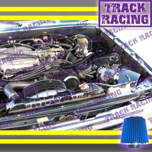 Black Blue AIR INTAKE KIT S for 88 89 90 91 92-95 TOYOTA PICKUP 4RUNNER 3.0L V6