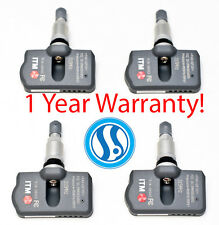 Set 4 Acura 2007-2015 MDX TPMS Tire Pressure Sensors OEM Replacement 315Mhz NEW