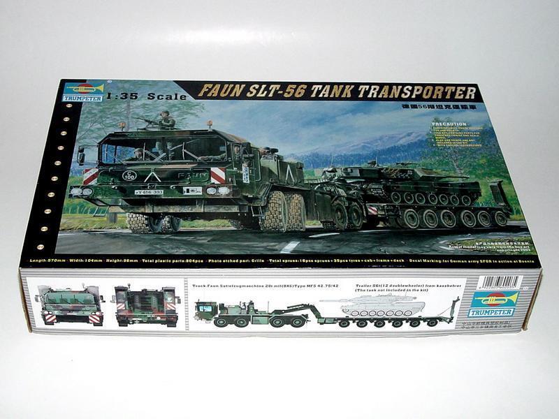 Trumpeter 1 35 00203 Faun Elephant SLT-56 Transporter