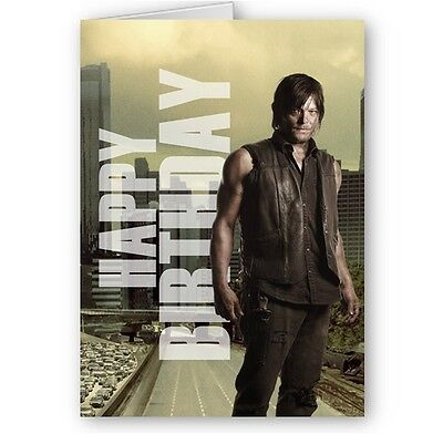 The Walking Dead Birthday Cards Collection On Ebay