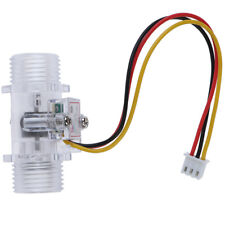 Water Flow Sensor Switch G12 Hall Effect Meter Control Dc 5 15zy