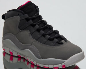 c66dcfe2e2be49 Air Jordan Retro 10 GS Smoke Grey Kids Lifestyle Shoes 2018 Sneakers ...
