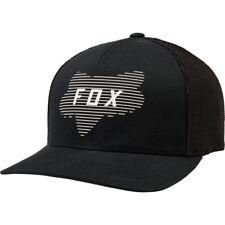 Fox Racing Homme Linéaire Tête Casquette Snapback Couvre-Chef Noir Baseball