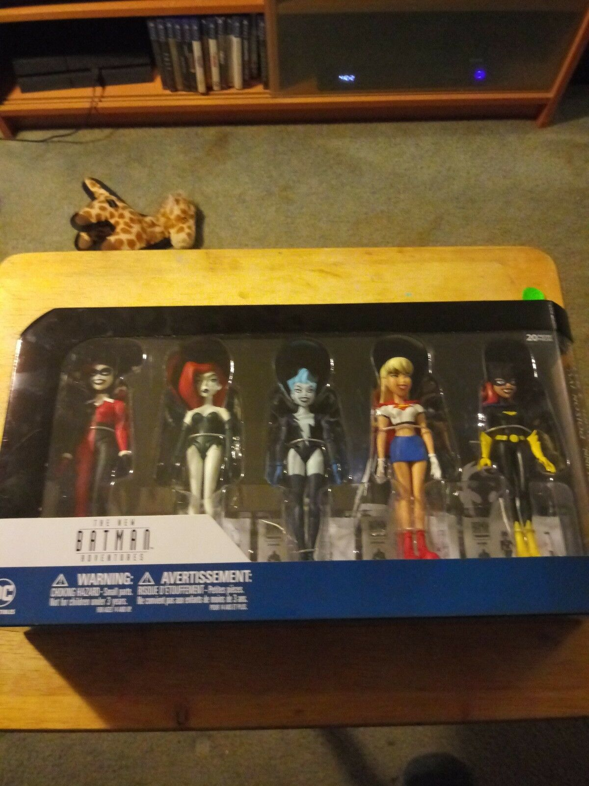 New Batman Adventures AF Collection  Harley, Poison Ivy, Ivy, Ivy, Batgirl,  Supergirl,... b96f67
