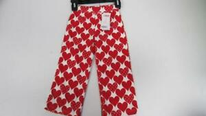 Gymboree-Valentine-039-s-Day-Red-White-Heart-Pull-On-Pants-Size-2T-NEW-TL25