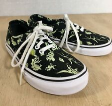 4981018169 item 1 Vans Glow in the Dark Dinosaur Lace Up Shoes Kids size 3 Black    Green color -Vans Glow in the Dark Dinosaur Lace Up Shoes Kids size 3 Black    Green ...