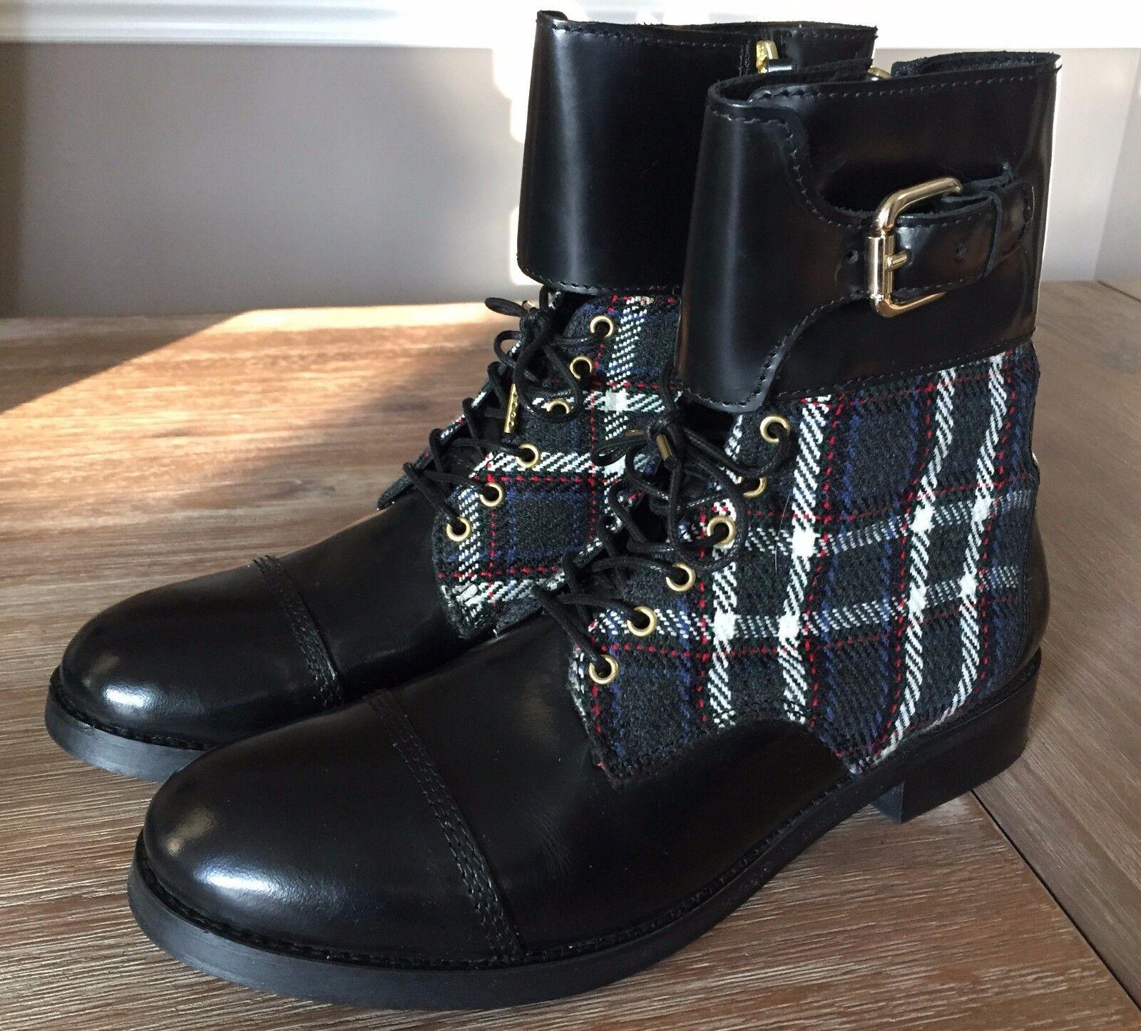 DIESEL ANKLE COMBAT BOOTS - EUC Size 41 Retail