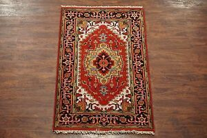 Veg-039-Dye-3X5-Serapi-Hand-Knotted-Area-Rug-3-1-x-5-Antiqued-Persian-Wool-Carpet