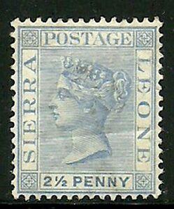 Album-Treasures-Sierra-Leone-Scott-27-2-1-2p-Victoria-Mint-Hinged