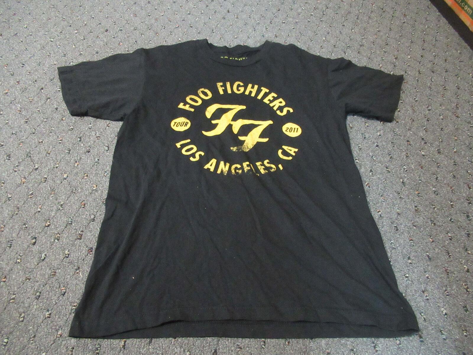 2011 FOO FIGHTERS LOS ANGELES FORUM TOUR T SHIRT