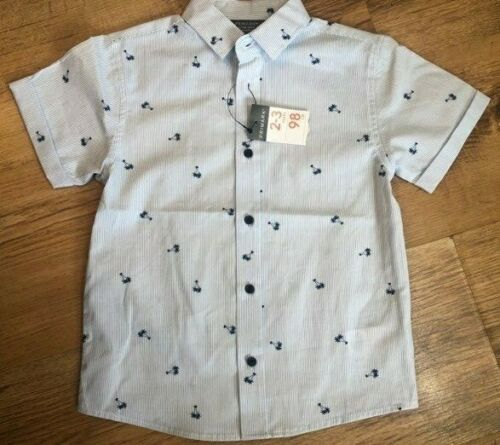 PRIMARK BOYS SUMMER PALM TREE SHIRT TOP BNWT ALL AGES