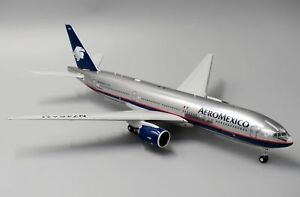 Jc Wings Lh2083 1/2002 Aeromexico Boeing 777-200er N746am avec support