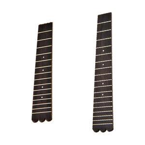 2pcs-21-039-039-23-039-039-Ukulele-Rosewood-Fingerboards-For-Soprano-Concert-Ukulele