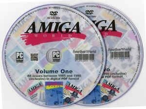 AMIGA-WORLD-Magazine-Collection-on-Disk-ALL-ISSUES-A1200-A500-CD32-Games-Apps