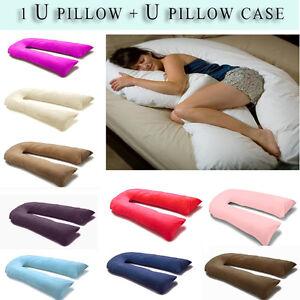 9ft 12ft U Pillow Body Bolster Support Maternity Pregnancy