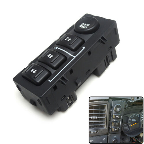 4WD 4x4 Selector Switch for Silverado GMC Sierra Yukon Tahoe 2003-2007 15136039