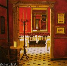 Jigsaw puzzle Building The Red Room En Rouge 550 piece NIB