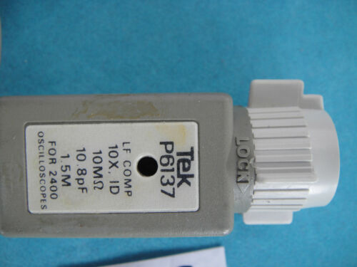 Tektronix TEK 400MHz P6137 Oscilloscope Test Lead 10.8PF Probe FOR 2400 USED