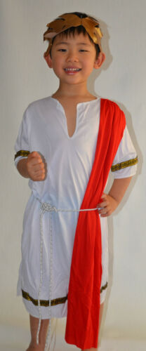 NEW Boy Roman Emperor dress up Costume Set Size S,M,L age 414