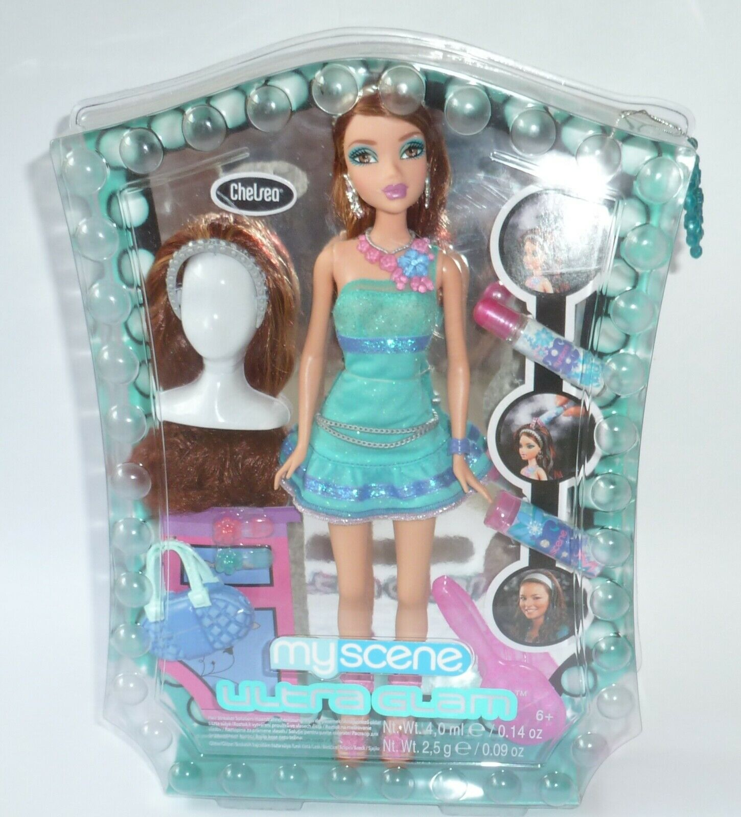 Nueva My Scene Barbie Ultra Glam Chelsea en caja original.