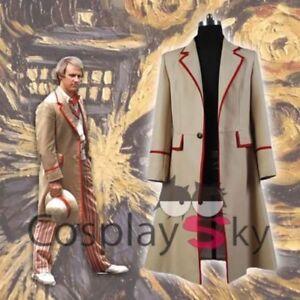 5th Doctor Who Peter Davison JACKET coat cosplay costume New