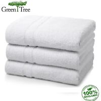 24 Pack White Greentree Collection 20x40 Hotel Bath Towels 100% Organic Cotton on sale