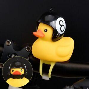 Bicycle Duck Light Bike Horn Bell Cartoon Helmet With Light Motorcycle/'Handle WD