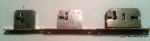 Einsteckschloss Schlüssel Schließblech Messing D.20 mm Li+Re Retro Restauratio3