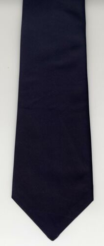 Navy Blue Clip On Ties 100/% Polyester UK Manufactured