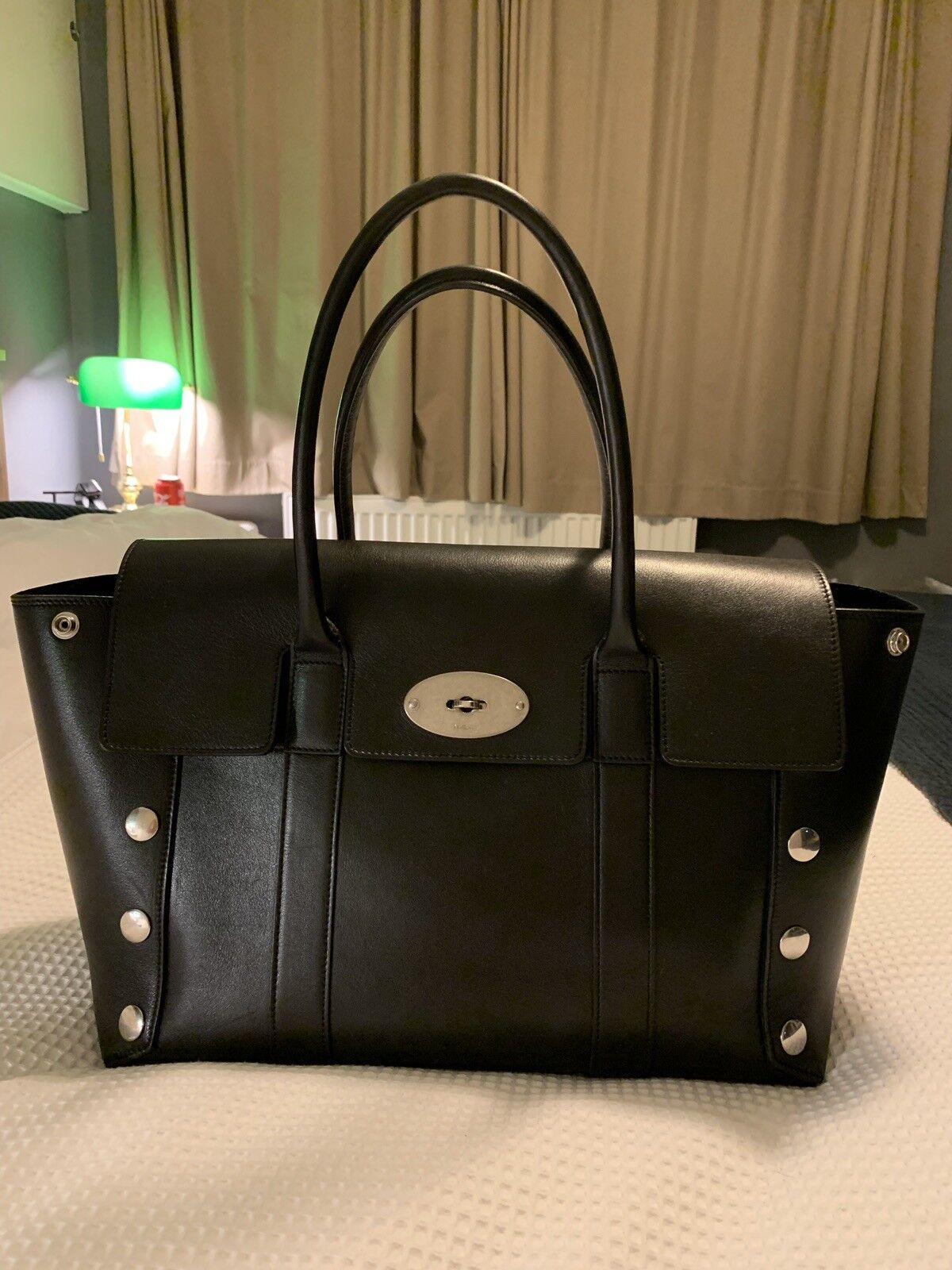 3f8396264b29 Stunning Mulberry studded black bayswater Bag Large