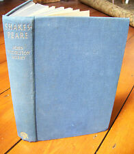 Shakespeare by John Middleton Murry (1st edition, hb, 1936)