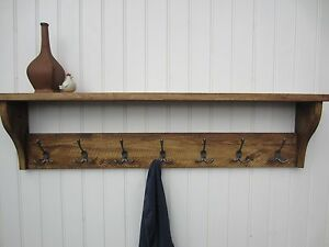 rustic pine coat rack