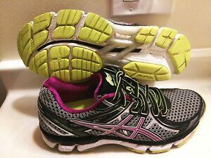 Asics Shoes | Gt 2000 Runningwalking Purple Black Sz 9