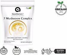 Mushroom Complex Chaga Cordyceps Reishi Lion's Mane Maitake Turkey Tail Shiitake