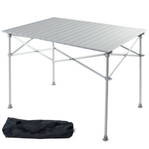Charmant Image Is Loading Aluminum Folding Picnic Camping Table Lightweight Roll Up